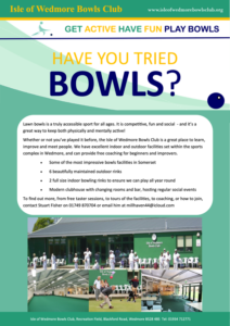 Lawn Bowls – Free Taster Sessions